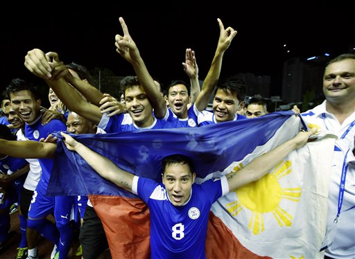 Philippines AFC Challenge Cup Soccer