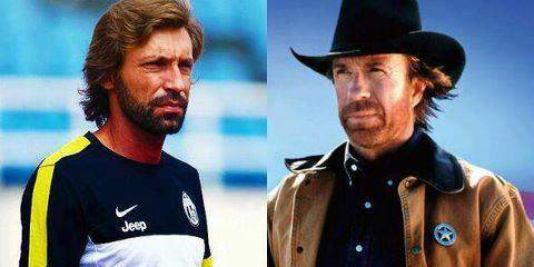 Andrea Pirlo, a Chuck Norris doppleganger, could lock up a spot in Brazil